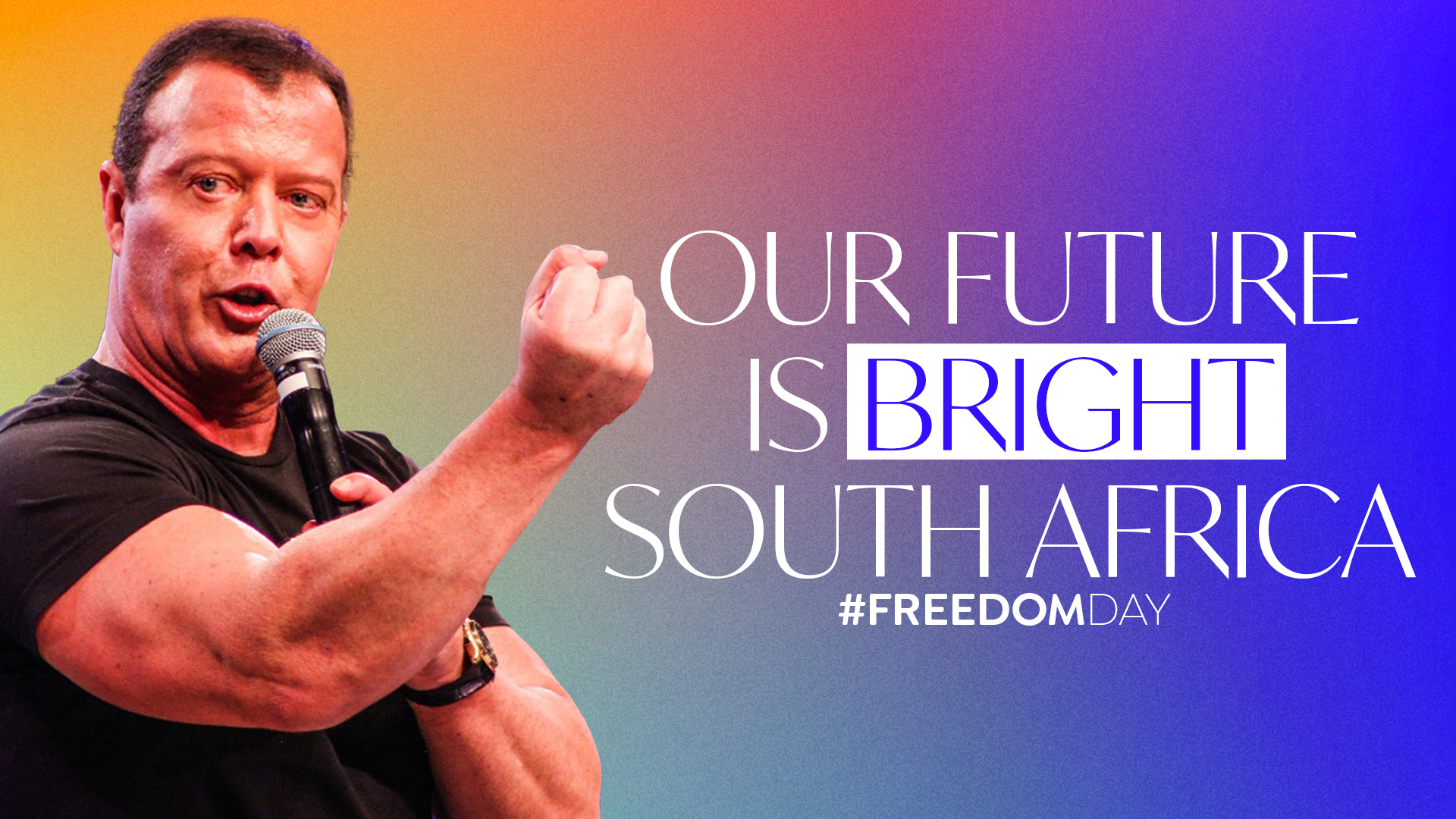 Our Future is Bright South Africa #FreedomDay